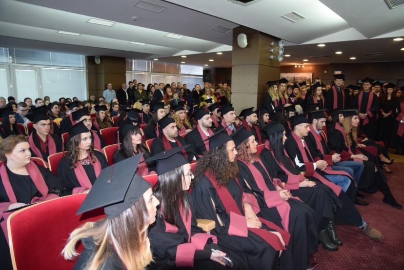 """Катедра """"Недвижима собственост"""" на УНСС връчи дипломи на абсолвентите си"""