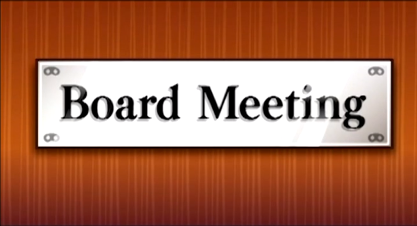 Board meeting with ACBO